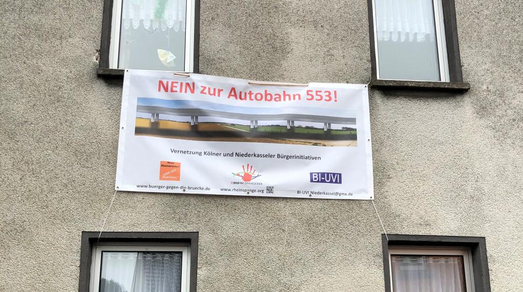 Nein zur Autobahn 553